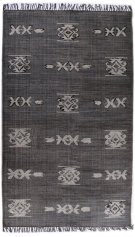 5'x8' Size Tribal Faded Black Rug Product Image