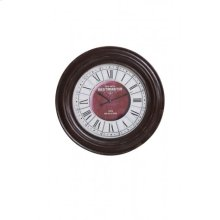 Clock 70 cm WESTMINSTER brown wood