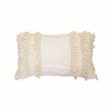 14X22 Hand Woven Grace Pillow
