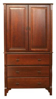 Wellington Armoire Top, For WL-340, One Adjustable Shelf Product Image