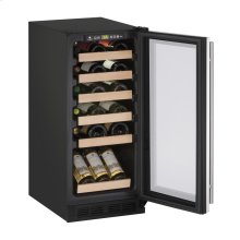 "CLOSEOUT ITEM: 15"" Wine Captain ® Model Stainless Frame Field Reversible Door"