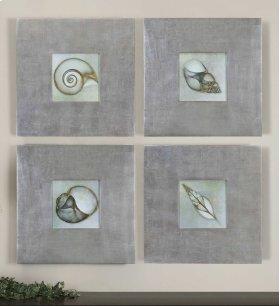 Neptune's Garden Framed Prints, S/4
