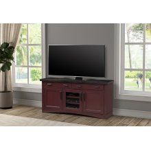 Americana Modern Cranberry 63 in. TV Console