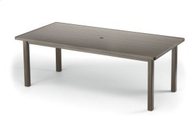 """42"""" x 84"""" Rectangular Table Top Only w/ hole"""