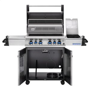 Napoleon BBQLegend 485 RSIB Stainless Steel with Infrared Side and Rear Burners