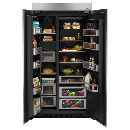42 Inch Built In Side By Side Refrigerator