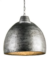 Earthshine Steel Large Pendant
