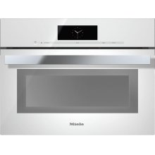 DGC 6800-1 Steam oven with full-fledged oven function and XL cavity combines two cooking techniques - steam and convection.