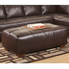 Signature Design by Ashley Fairplay Oversized Accent Ottoman in Mahogany DuraBlend