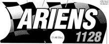 Ariens Sno-thro Decal, Front Panel - 1128