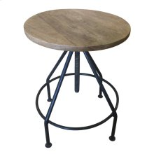 Bengal Manor Mango Wood and Metal Barstools