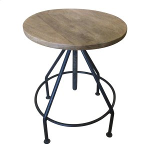 CRESTVIEW COLLECTIONSBengal Manor Mango Wood and Metal Barstools
