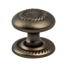 Advantage Plus Four Verona Bronze Roped Knob