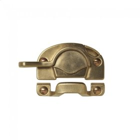 Double-Hung Sash Lock - WD10 Silicon Bronze Brushed