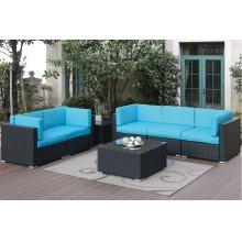 7 Piece Outdoor Sofa Set