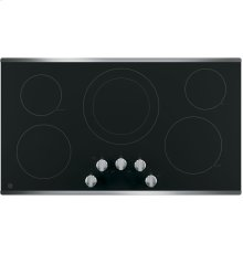 "36"" Radiant Cooktop, 8"" Power BoiL, 6"" Warming, 7"", 6"" Melt, 12/9"" Dual Elements"