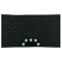 "36"" Radiant Cooktop, 8"" Power BoiL, 6"" Warming, 7"", 6"" Melt, 12/9"" Dual Elements"