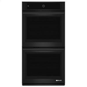 "Jenn-AirBlack Floating Glass 27"" Double Wall Oven with MultiMode® Convection System"