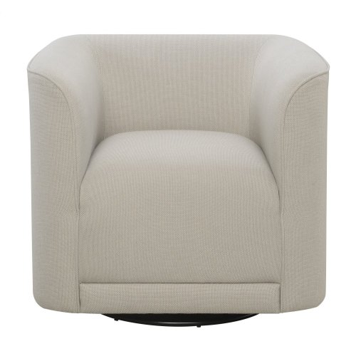 Emerald Home Whirlaway Swivel Chair Cream U3272-04-09