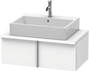 Vero Vanity Unit For Console Compact, White Matt