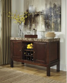 Dining Room Server Kraleene - Dark Brown Collection Ashley at Aztec Distribution Center Houston Texas