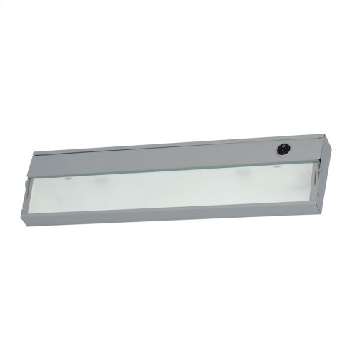 Zee-Lite Xenon 12V - 2 light, 17 1 / 2-inch w / lamps. Stainless Steel finish.