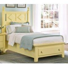 Argyle Poster Storage Bed