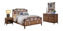 Palm Island 6 PC Complete King Bedroom Set