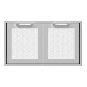 """Hestan36"""" Hestan Outdoor Double Access Doors - Agad Series - Froth"""