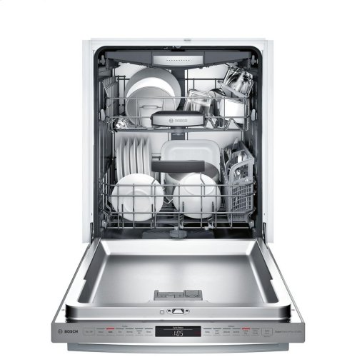 800 Series built-under dishwasher 24'' Stainless steel SHX878WD5N
