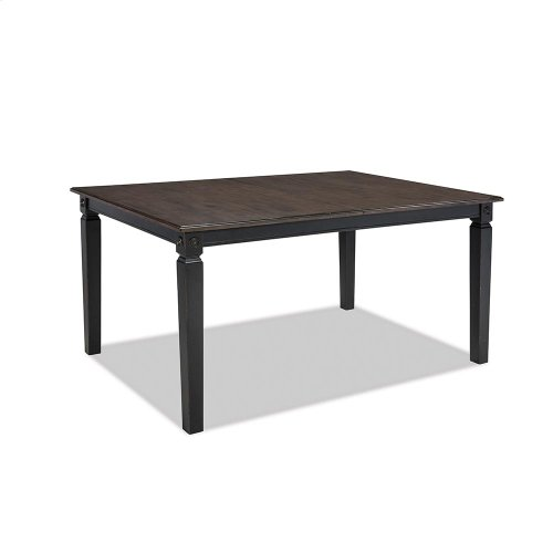 Dining - Glennwood Dining Table  Black & Charcoal