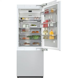 MieleKF 2801 Vi - MasterCool™ fridge-freezer with high-quality features and maximum storage space for exacting demands.