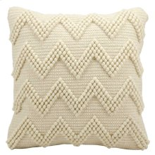 "Life Styles Dc173 Ivory 20"" X 20"" Throw Pillow"