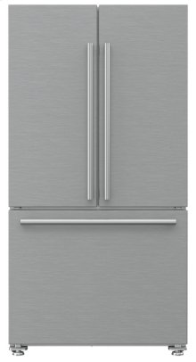 """36"""" French Door Refrigerator 22.3 cu ft, stainless doors, stainless handles"""