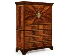 Mahogany Home Office Cabinet