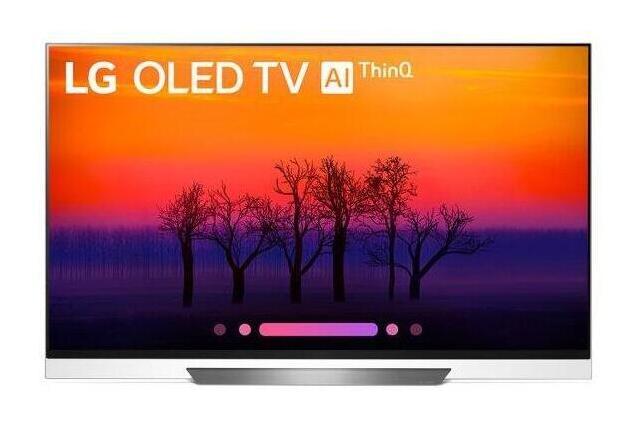 """E8PUA 4K HDR OLED Glass TV w/ AI ThinQ(R) - 65"""" Class (64.5"""" Diag)"""