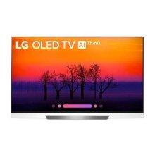 """E8PUA 4K HDR OLED Glass TV w/ AI ThinQ® - 65"""" Class (64.5"""" Diag)"""