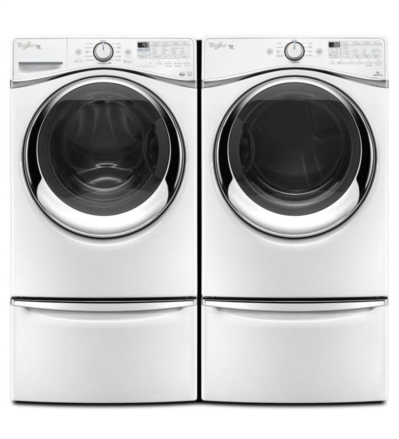 4 5 cu  ft  Duet® Steam Front Load Washer with Load & Go™ System