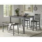 Decatur Lane 4pack Counter Height Set - Autumn Brown/grey Product Image
