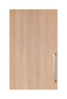 "Integrated Solid Panel Ready 30"" Tall Wine Storage Door - Left Hinge"