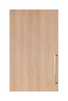 "Integrated Solid Panel Ready 30"" Tall Wine Storage Door - Right Hinge"