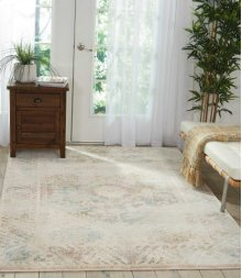 Fusion Fss11 Cream Rectangle Rug 5'3'' X 7'3''