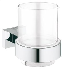 Essentials Cube Crystal glass with holder