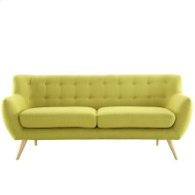 Remark Upholstered Fabric Sofa in Wheatgrass