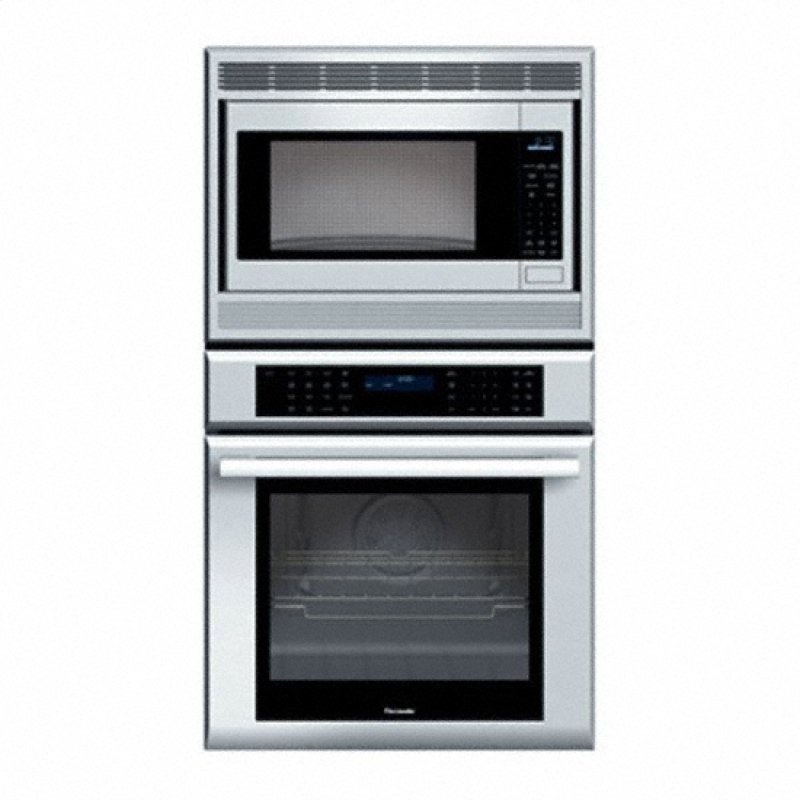 27 Masterpiece Series Stainless Steel Combination Oven With Microwave True Convection And Warming Drawer