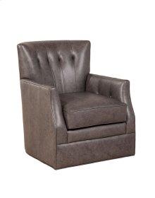 Gianna Swivel Chair - Milestone Smoke Sale!