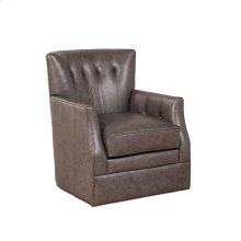 Gianna Swivel Chair - Milestone Smoke Sale!