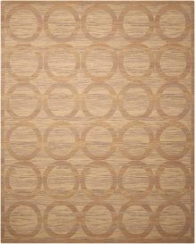 Silken Allure Slk21 Sand Rectangle Rug 5'6'' X 8'