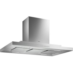 Gaggenau200 series 200 series Island hood stainless steel Air recirculation with 400 series AR410710 or AR413722 blowers.