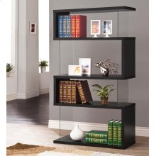 Casual Black Bookcase